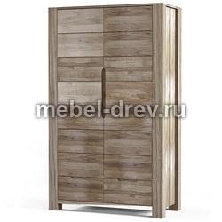 Шкаф двухдверный Рива
