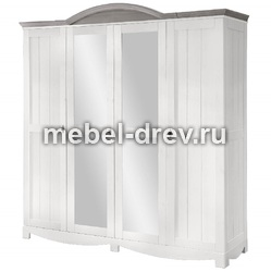 Шкаф 4-дверный Рома