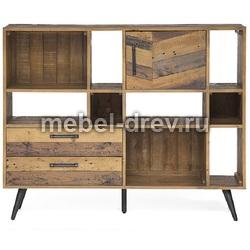 Книжный шкаф низкий LARGO (Ларго) Secret De Maison