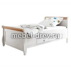 Кровать Мальта 100х200 с ящиками