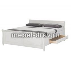 Кровать Мальта 140х200 с ящиками