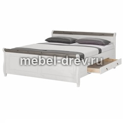 Кровать Мальта 180х200 с ящиками