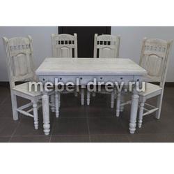 Стол обеденный Викинг GL-05 Б