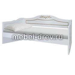 Кровать двуспальная без изножья Юта 200 WoodMos