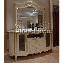Сервант с зеркалом Милано 8803