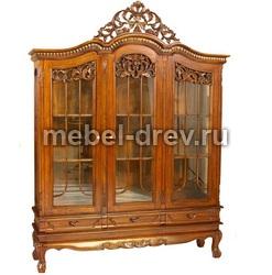 Витрина трехдверная Henry display cabinet