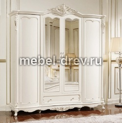 Шкаф четырехдверный Глория FF6093