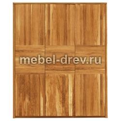 Шкаф трехдверный 3PPV Лоредо WoodMos