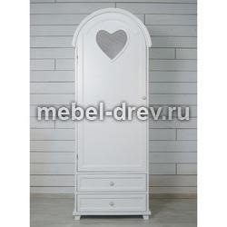 Шкаф 1-створчатый Adelina (Аделина) DM-1026ETG