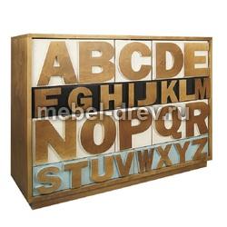 Комод широкий Alphabeto (Альфабето) AL-01/1ETG