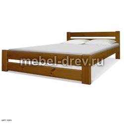 Кровать Вирджиния 90х200 масло