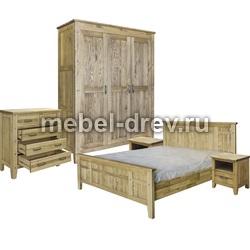 Кровать Вирджиния 90х200 воск