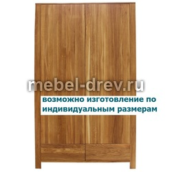 Шкаф 2-х дверный Юта VP WoodMos