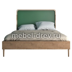 Кровать полутороспальная без изножья Юта 120 WoodMos