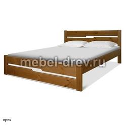 Кровать двуспальная Лоредо 160 WoodMos