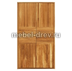 Шкаф двухдверный 2PP Лоредо WoodMos
