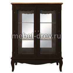 Шкаф-витрина Leontina (Леонтина) ST-9318 BLK