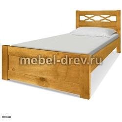 Кровать двуспальная Юта 140 WoodMos