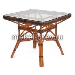Комплект из ротанга стол Yama (Джама)+стулья Jiali (Джиали)
