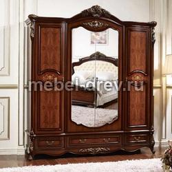 Шкаф 4-дверный с зеркалом Аманда FF6095
